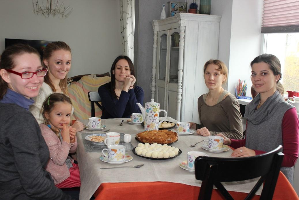 Встреча клуба благость на кухне
